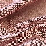Tela por metros de loneta lisa - Half Panamá 100% algodón - Ancho 280 cm - Largo a elección de 50 en 50 cm | Granate