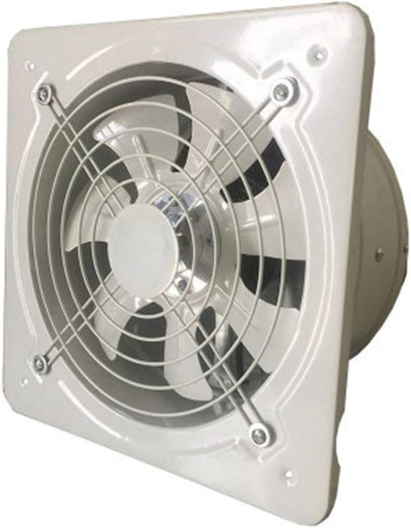 Extractor de ventilación Industrial Extractor axial de Metal Ventilador de Aire Comercial Ventilador de bajo Ruido Funcionamiento Estable