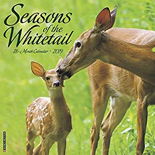 whitetail deer calendar 2018