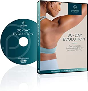 P.VOLVE 30-Day Evolution Workout Video DVD + Digital Copy