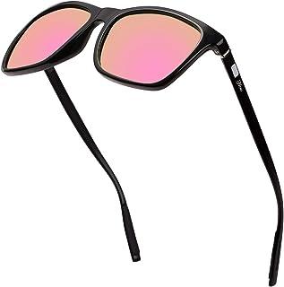b959e1df02 Square Aluminum Magnesium Frame Polarized Sunglasses Spring Temple Sun  Glasses