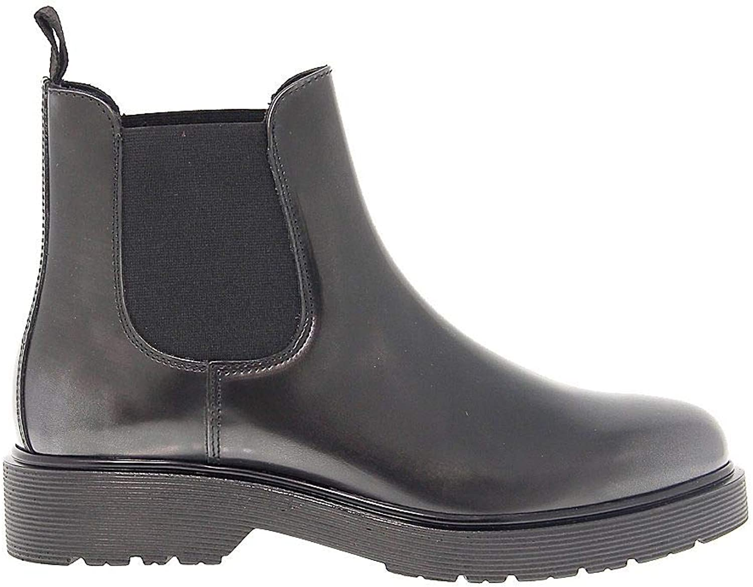 ANTICA CUOIERIA Women's ANTIC20329 Grey Leather Ankle Boots