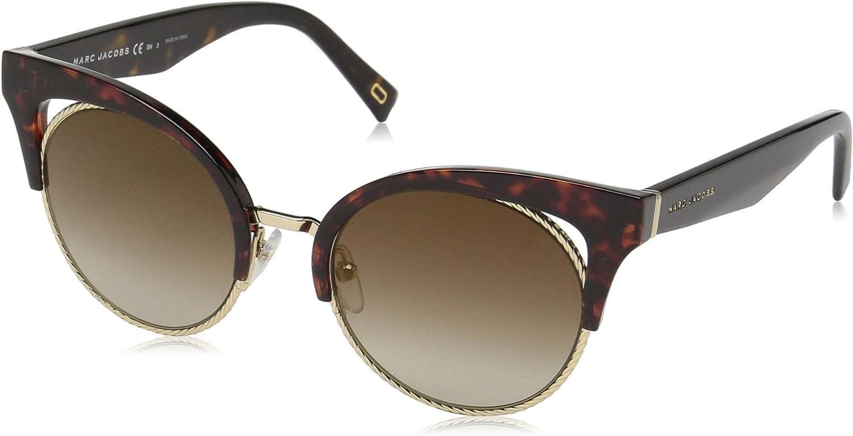 Marc Jacobs Women's Marc215s Cateye Sunglasses, DKHAVANA, 51 mm