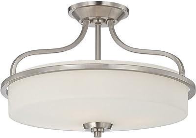Savoy House 6-6224-3-SN Three Light Semi-Flush
