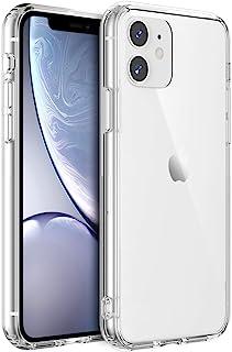 Shamo's Funda iPhone 11 Transparente, Carcasa Tecnología de cojín de Aire y protección híbrida de la caída, PC Duro Panel Posterior y Marco De TPU Suave