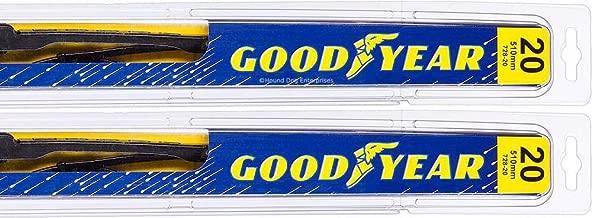 Premium - Windshield Wiper Blade Bundle - 3 Items: Driver & Passenger Blades & Reminder Sticker fits 1994-2001 Dodge Ram 1500