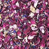 Natürliches Blüten-Konfetti, 1 Liter, biologisch abbaubar, viele Farben, Typen und Mischungen...
