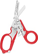 Leatherman - Raptor Emergency Response Shears with Strap Cutter and Glass Breaker, Red with Molle Compatible Holster