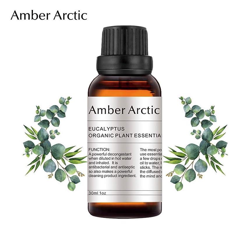 精緻化移民耳AMBER ARCTIC エッセンシャル オイル ディフューザー 用 100% 純粋 新鮮 有機 植物 セラピー オイル 30Ml ユーカリ ユーカリ