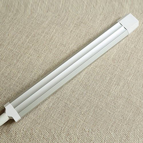 XIN Home staande lamp, op de vloer staande leeslamp, creatieve stang met lange arm (elegant zilver (5-voudig )) oogbescherming verticale tafellamp