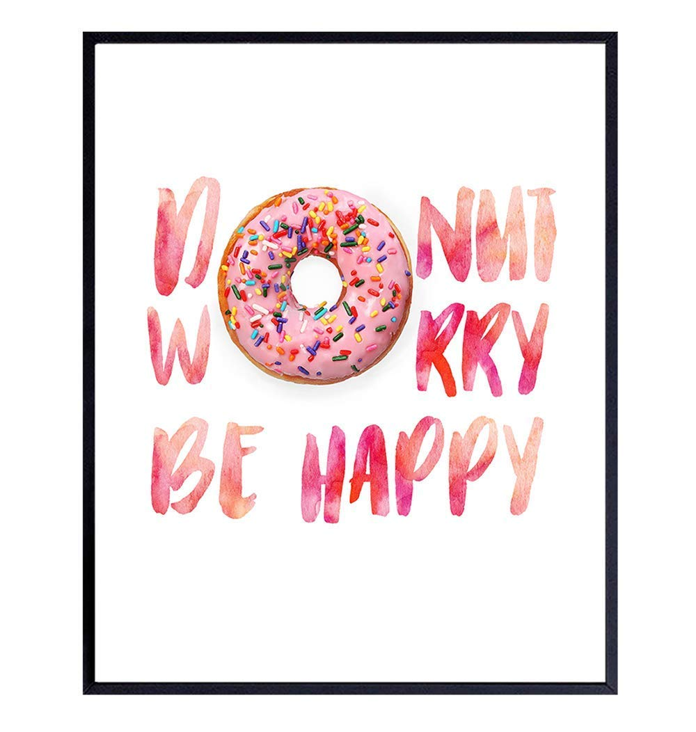 Donut Wall Decor - Funny Dining Cute Sale item Cafe Kitchen Ranking TOP10 Room