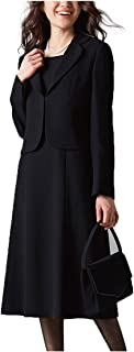 [nissen(ニッセン)] フォーマル スーツ アンサンブル セット 前開き ワンピース テーラードジャケット レディース