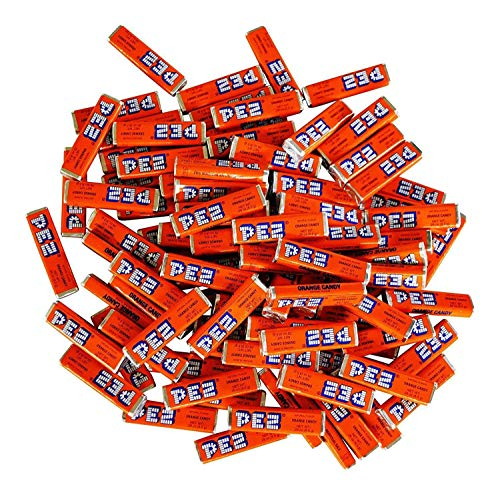 Pez Candy Single Flavor, Orange, 1 Lb