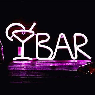 Panneau lumineux LED néon pour bar, panneau publicitaire électrique avec télécommande, lumière de nuit pour pub, bistro, f...