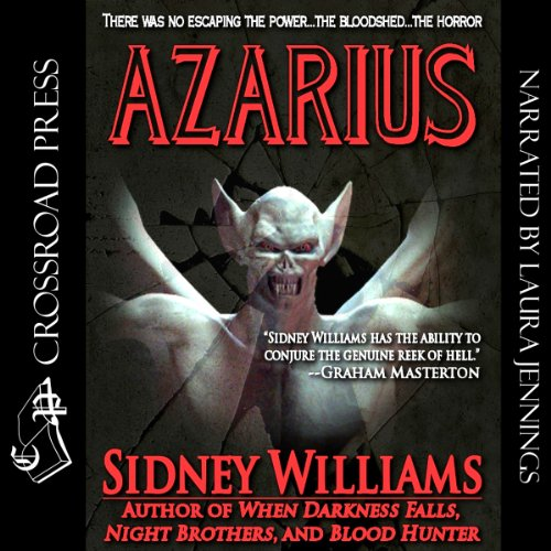 Azarius audiobook cover art