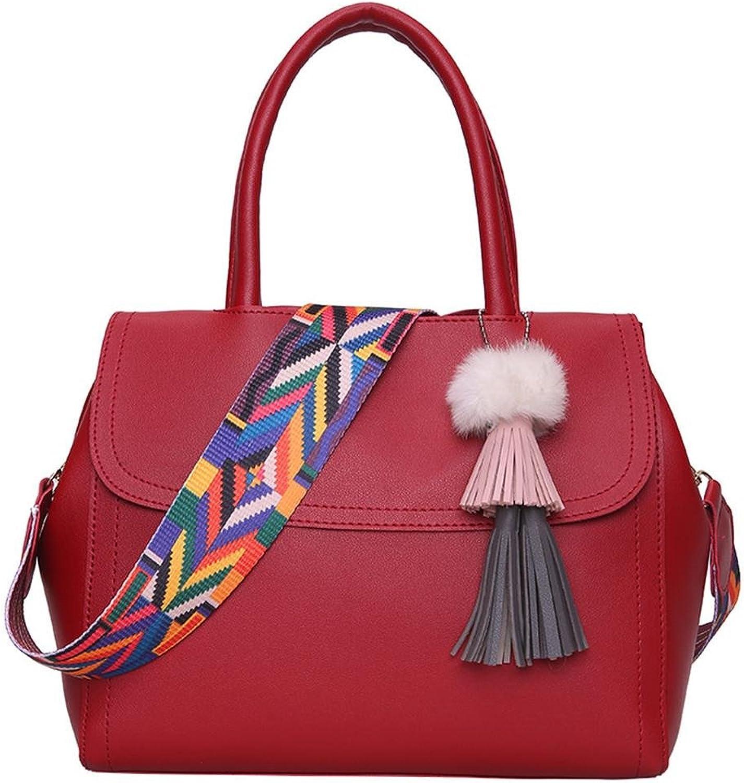 SHOUTIBAO Weibliche Tasche Single Schulter Schräge Cross Handtasche Handtasche Handtasche Mode Temperament Multifunktional Fransen Shopping (sechs Farben) B07GDHG3VR  Voller Charme d5501e