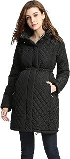 Outerwear Women's Prue Quilted Parka Coat Pregnancy Winter Jacket