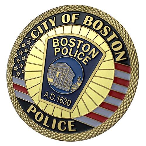 Boston Police Department / BPD G-P Challenge coin 1147#