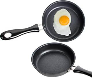 Zinnor Egg Pan Mini Non Stick Fry Frying Flat Rugular Pancake Cute Creative Kitchen Tool Cooker Non-Stick Pot Home Dinning Cookhouse