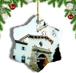 Best santa barbara christmas ornament Reviews