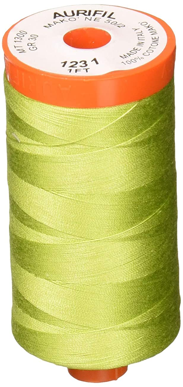 Aurifil Mako Cotton Thread Solid 50wt 1422yds Spring Green