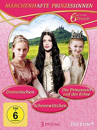 Sechs auf einen Streich - Märchenhafte Prinzessinen (3 DVDs)