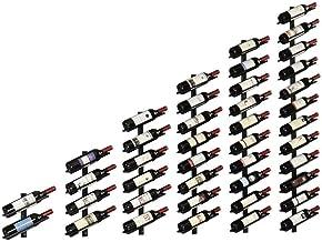HTTJJ Stylish Wall-Mounted Wine Rack, Wall-Mounted Wine Rack, Cork Storage Store Rack for, Household and Kitchen Decor, Id...