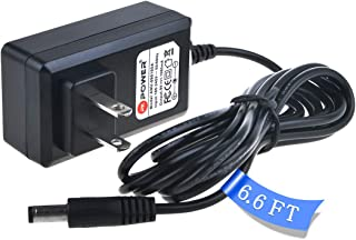 PK Power PW-CT-9V DC Power Adapter –Minimize Need to Change Batteries on Pedalboard and Other Devices Requiring 9V – 1000mA Max Current – Center Negative with 6.6FT Cord Power Supply
