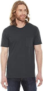 Men Fine Jersey Crewneck Pocket T-Shirt