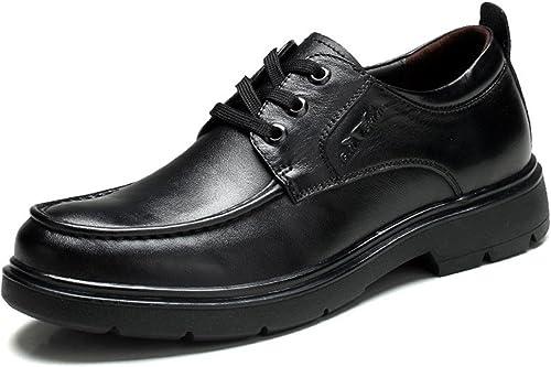 SKY-Maria Hommes Entreprise Fond Fond épais Chaussures en cuir Antidérapant AugHommester les chaussures VêteHommests de cérémonie Chaussures plates AugHommester les chaussures EUR TAILLE 38-44  marque