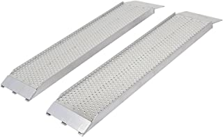 Guardian S-368-1500-P Dual Runner Shed Ramps with Punch Plate Surface - 8