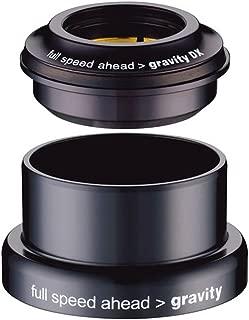 Gravity DX Tapered Headset (Upper: 44mm I.D. Lower: 49.57mm I.D, Steerer Tube: 1-1/8-1.5-Inch Tapered)