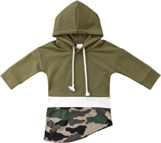 Baby Boy Girl Camouflage Hoodies Tops Toddler Hooded Sweater Casual Cotton Hoodie Sweatershirt Outfits