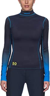 UV Long Sleeve T-Shirt Womens Navy Top Tee Shirt Horse Riding Activewear