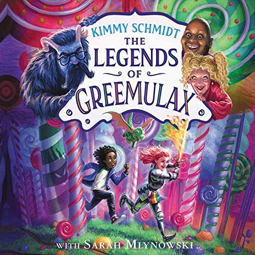 『The Legends of Greemulax』のカバーアート