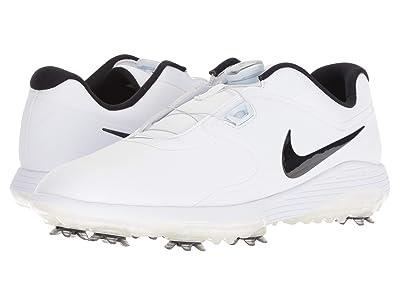 Nike Golf Vapor Pro BOA (White/Black/Volt) Men