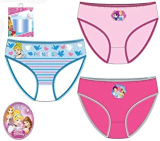 668b9c383c Disney Princess Cinderella Pack 3 Slips Underwear Kid Girl Cotton  Model Color Can Vary