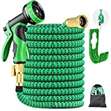 9. Landtaix Expandable Garden Hose Water Hose 50ft Garden Hose Durable Leakproof Lightweight Retractable Hose with Holder&9 Function Nozzle,Durable Solid Brass Fittings Great for Watering Washing