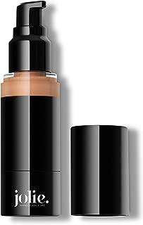Jolie Luminous Foundation SPF 15 - Silky Hydrating Liquid Makeup (Natural Beige)