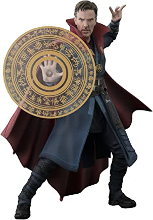 "Bandai Tamashii Nations S.H. Figuarts Doctor Strange & Burning Flame Set ""Doctor Strange"" Action Figure"