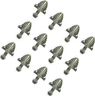 亜鉛合金 木箱 宝石箱 コーナー プロテクター 足脚 装飾 12個入り