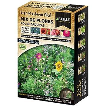 Huerto Urbano - Mix de flores Polinizadoras - Batlle: Amazon.es ...
