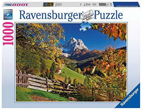 Ravensburger Puzzle, Puzzle 1000 Pezzi, Monte Pelmo, Puzzle per Adulti, Puzzle Paesaggi, Puzzle Ravensburger - Stampa di Alta Qualità