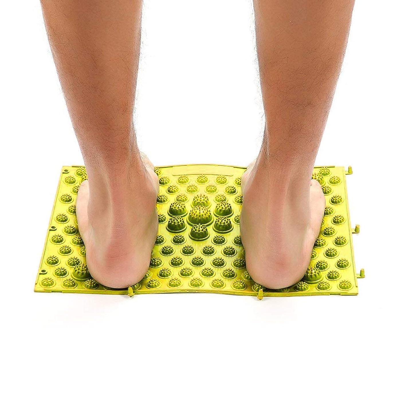 タウポ湖十二誇張Acupressure Foot Mats Running Man Game Same Type Foot Reflexology Walking Massage Mat for Pain Relief Stress Relief 37x27.5cm