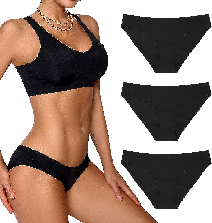 SHARICCA Period Underwear for Women Teen Girls Pantie Cheap Postpartum Boston Mall