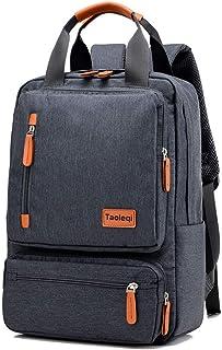 YGBBH Freizeit-Reiserucksack für Damen und Herren, multifunktional, Laptop-Tasche aus Segeltuch, dunkelgrau Schwarz - YGBBH-21221