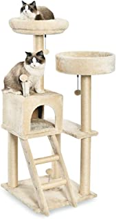 AmazonBasics Cat Tree with Platform, Scratching Posts, X-Large Size