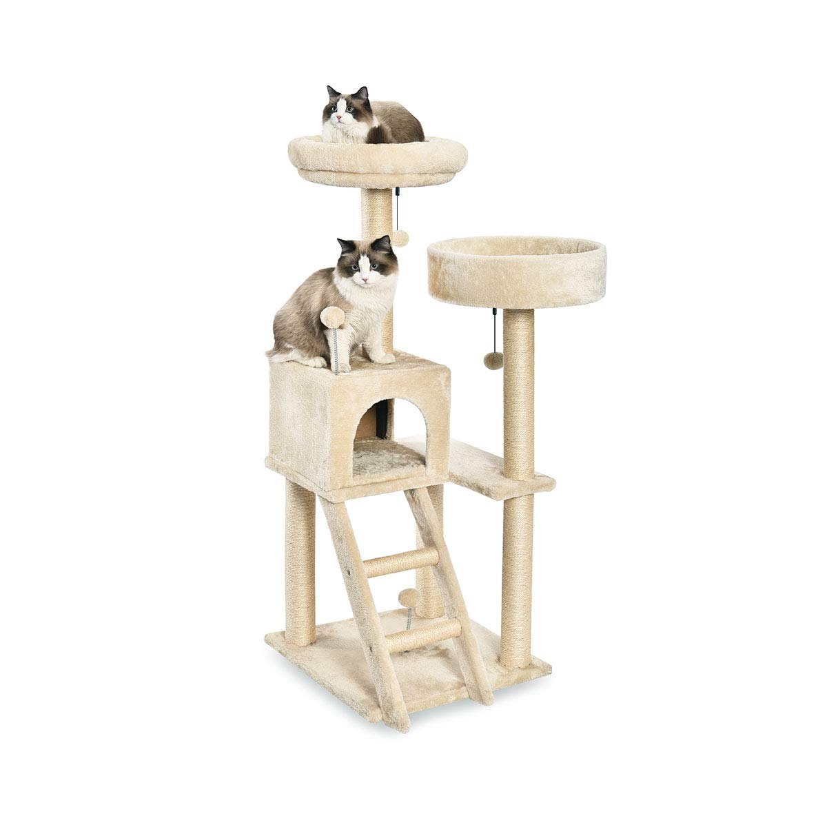 AmazonBasics Cat Tree Platform Beige