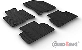 3D Exclusive Tapis DE Sol en Caoutchouc Compatible avec Santa FE II 2007-2012 4pc J/&J AUTOMOTIVE