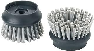 Joseph Joseph Palm Scrub Replacement Brush Heads, Grey Pack of 2